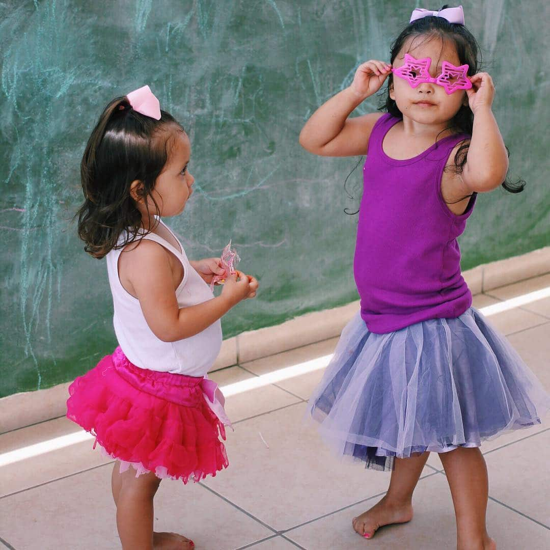 These two little girls are currently in our crisis care center! Check out our website to learn how you can step into our story and help children within our ministry